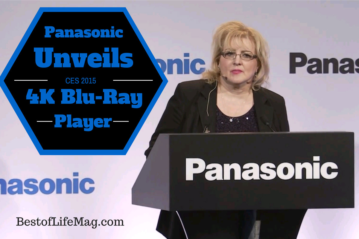 Panasonic Unveils 4K Blu-Ray Player