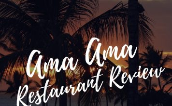 Traveling to Disney's Aulani Resort? Here is your Ama Ama Restaurant review, one Aulani Resort's best restaurants.