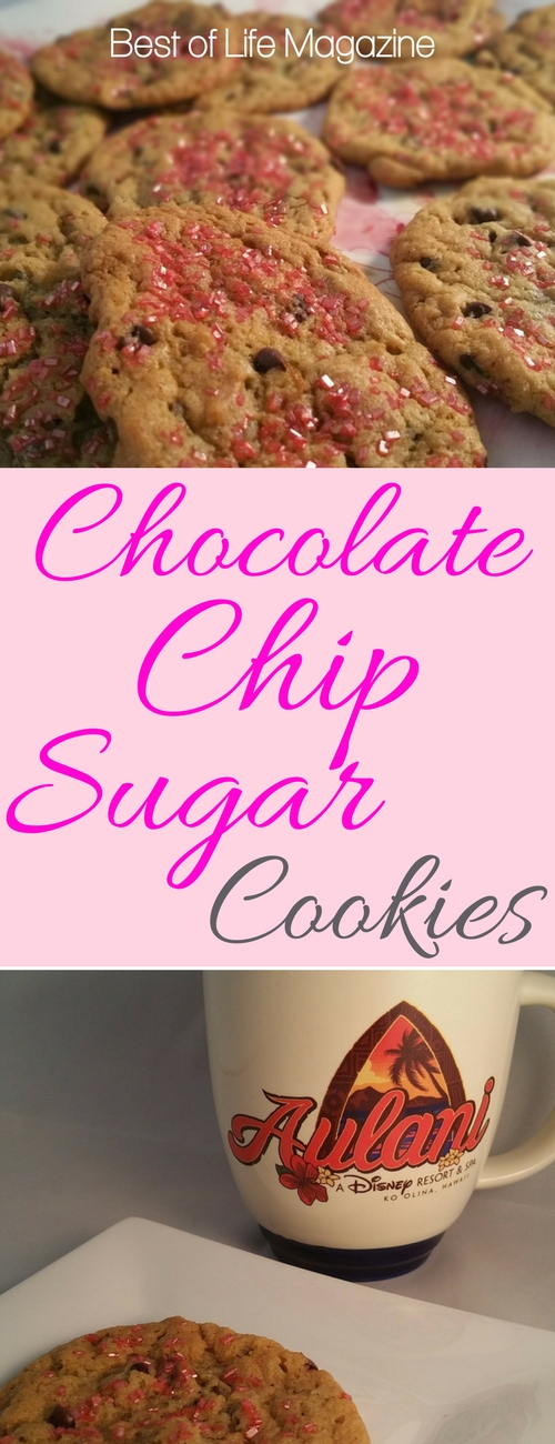 Chocolate chips AND sugar cookie goodness combined into one awesome cookie? Yes, it's true and here's the recipe that will end all recipes.