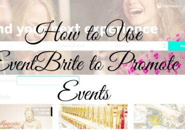 Use EventBrite to Promote Events