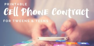 The decision to get any child a cell phone is a big one and deserving of a cell phone contract to make sure both parents and child are clear on the rules of cellular engagement.
