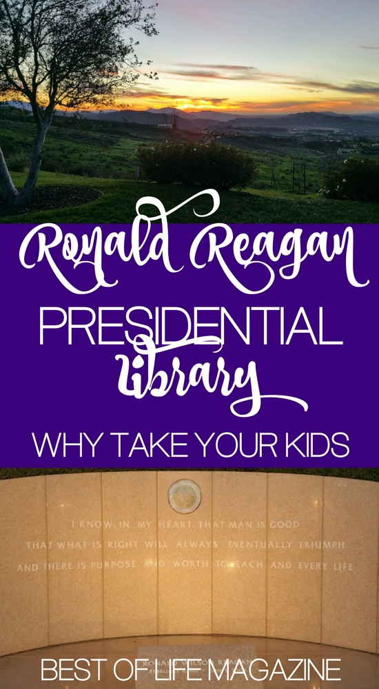 The answer is a resounding yes. You do need to take your kids to the Ronald Reagan Presidential Library and there are many reasons why.
