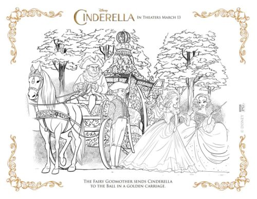 Cinderella and Carriage