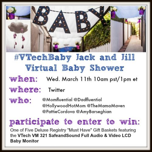 Join Me, Along With Some Of My Amazing Friends, For An Online Ebaby Shower  With VTech On March 11th At 10am Pst!
