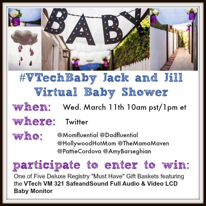 VTech Baby Shower Twitter Party