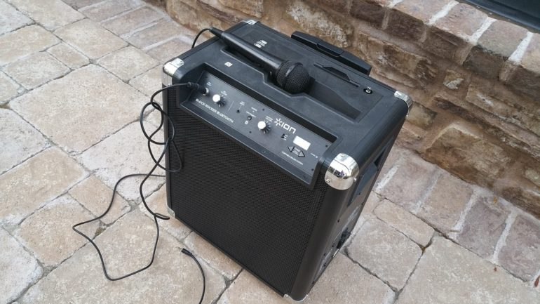 Block Rocker Speaker for Outdoor Movie Nights