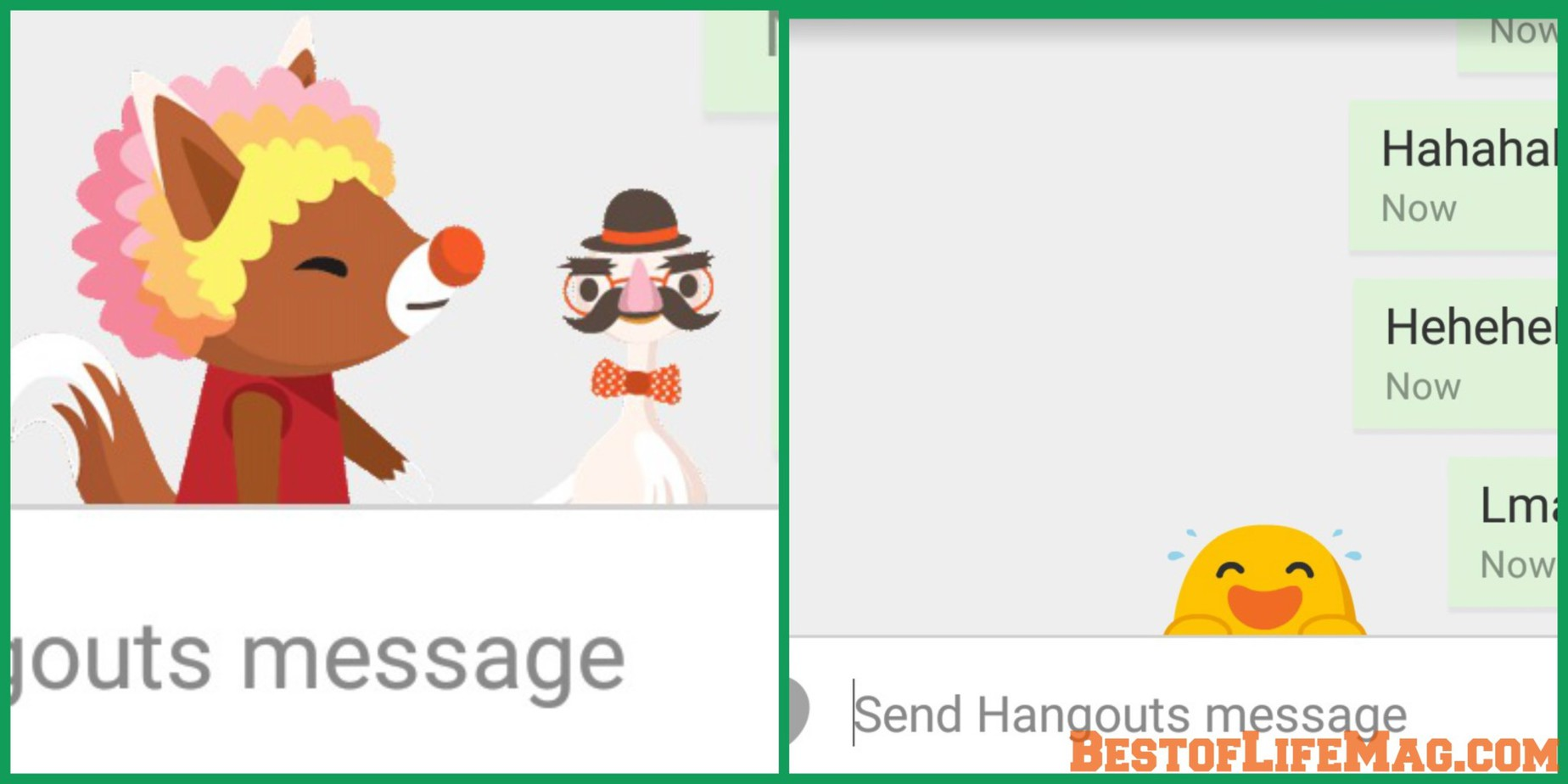Want to have some fun with Google Hangout? Check out these hidden emoji that you can find with one word or phrase inside Hangouts.