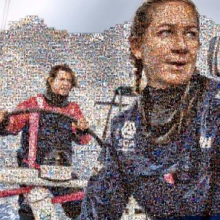 Team SCA Photo Mosaic Empowering Women
