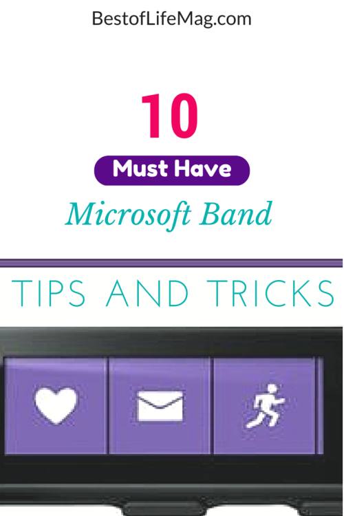 Make the most of your Microsoft Band with these tips and tricks that will turn you into a pro user of the device in no time!