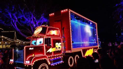 Cars Disneyland's Diamond Celebration