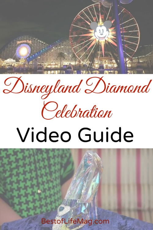 Disneyland Diamond Celebration Video Guide