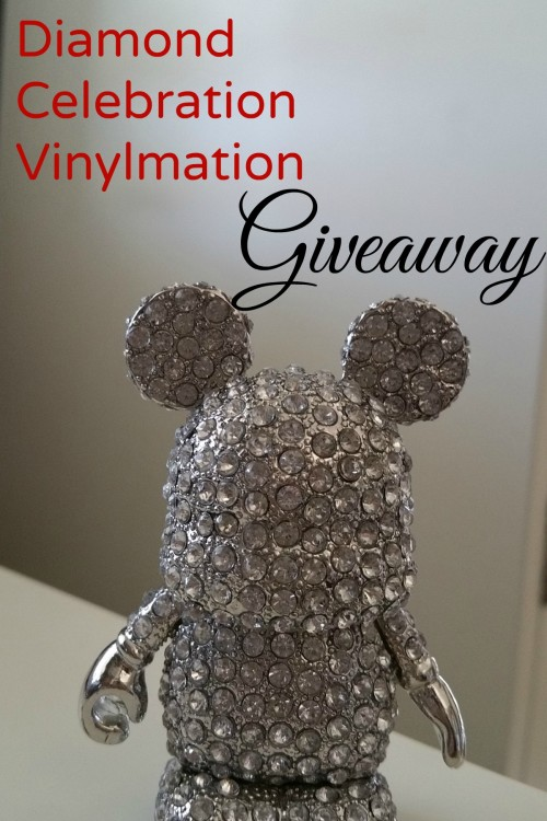 Disneyland Diamond Celebration Vinylmation Giveaway