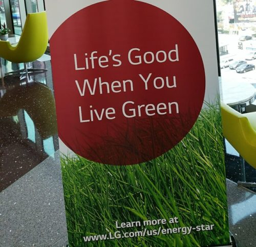 Life's Good When you Live Green at The Vermont