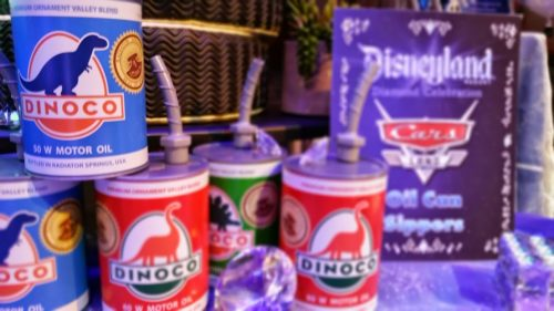 Oil Can Sippers Disneyland's Diamond Celebration