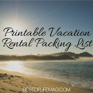 Don't leave anything behind with this printable vacation rental packing list - it's perfect for your trip and helps keep everything organized.