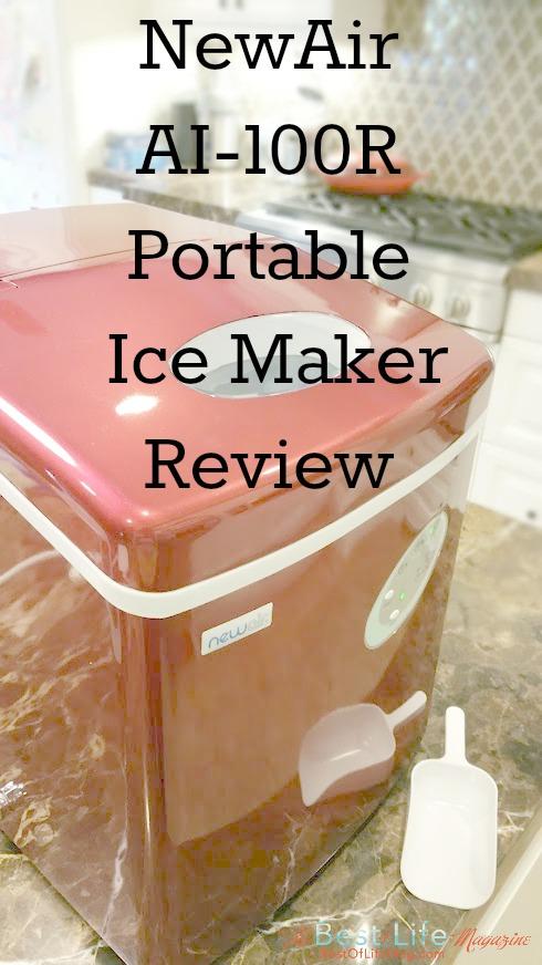 Charmant NewAir AI 100R Portable Ice Maker Review