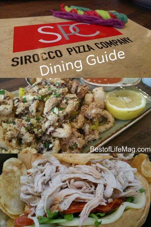 Sirocco Pizza Company Dining Guide