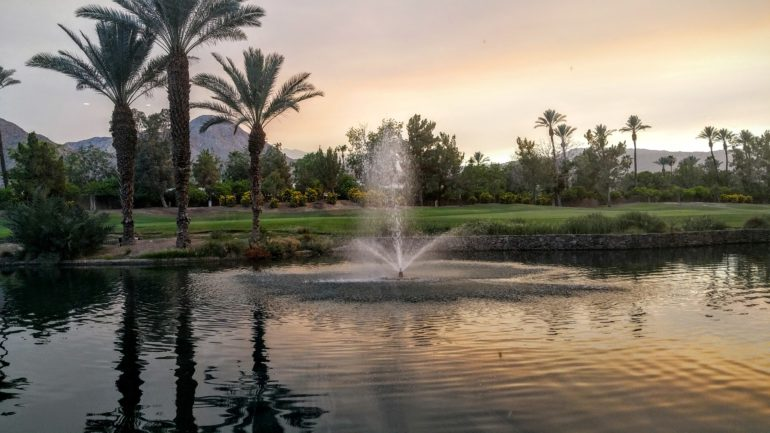 The View from SiThe View from Sirocco Pizza Kitchen at Renaissance Indian Wells Resort and Sparocco Pizza Kitchen