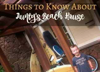 Before visiting Disney's Aulani Resort, you should check out Aunty's Beach House, a safe place for children and a taste of home away from home.