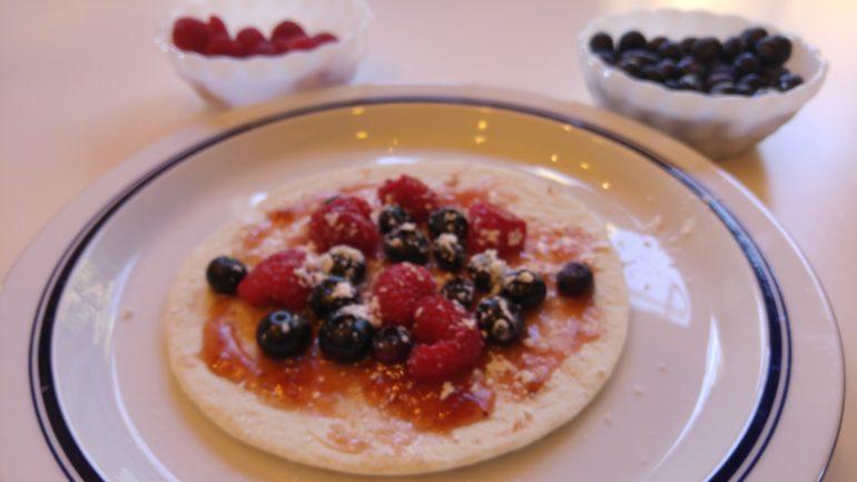 Fruit Crisp Air Fryer Recipe for the Family