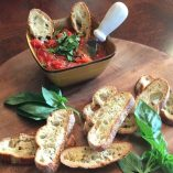 This versatile and easy bruschetta recipe always appears more impressive than it is! Plus, it makes for a fabulous appetizer and comes together in minutes.
