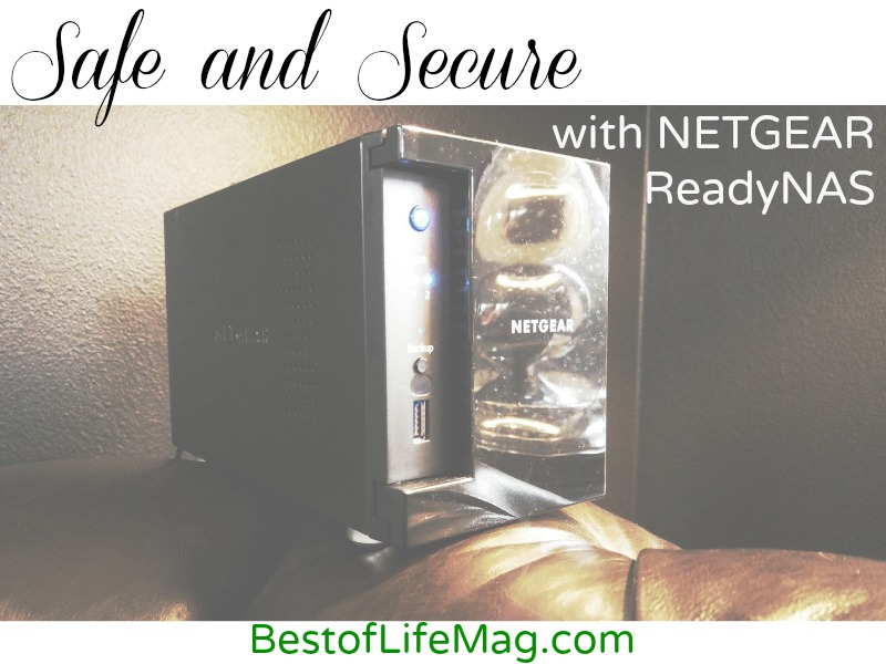 Safe and Secure with NETGEAR ReadyNAS #Netgear