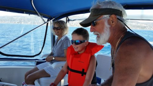Captain Ken makes chartering yachts enjoyable