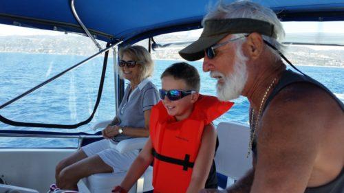 Captain Ken makes chartering yachts enjoyable