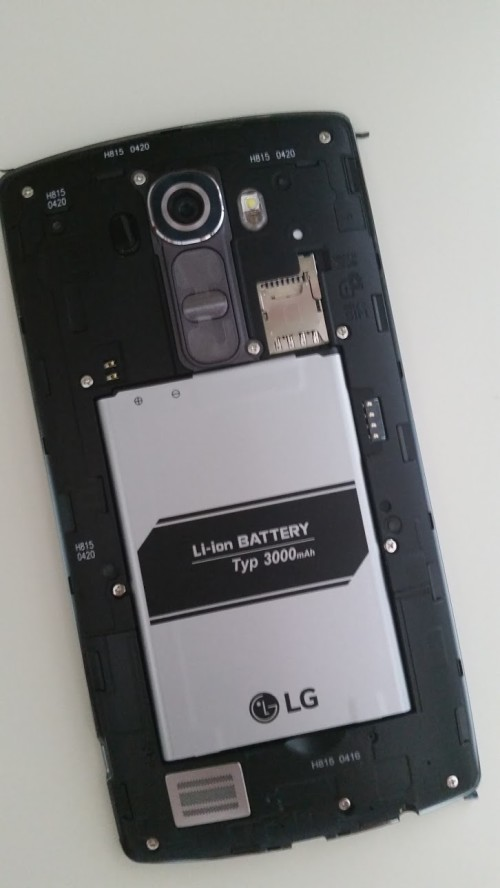 LG G4 Review - Replaceable Battery