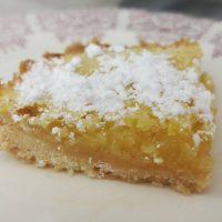 This luscious lemon bar recipe is perfect for a warm summer day or a light and refreshing dessert any other time of the year.