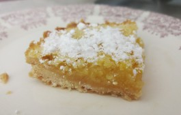 Luscious Lemon Bar Recipe