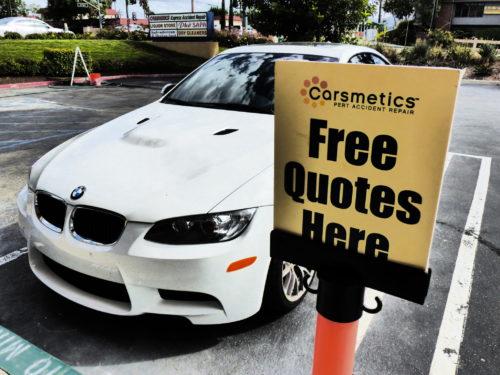 Free Quotes at Carsmetics OC