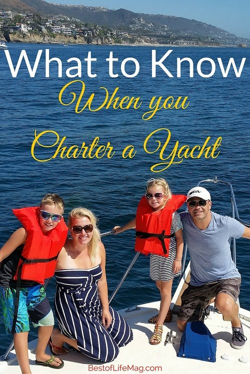 What to Know about Chartering Yachts