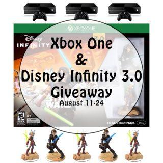 XBox One + Disney Infinity 3.0 Giveaway