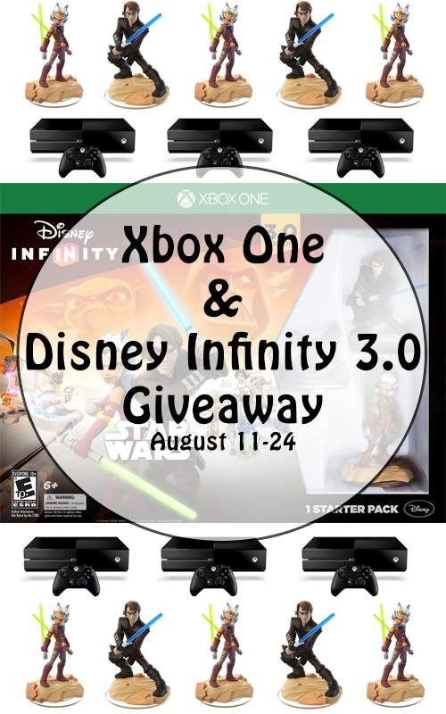 XBox One + Disney Infinity 3.0 Giveaway - Enter to Win