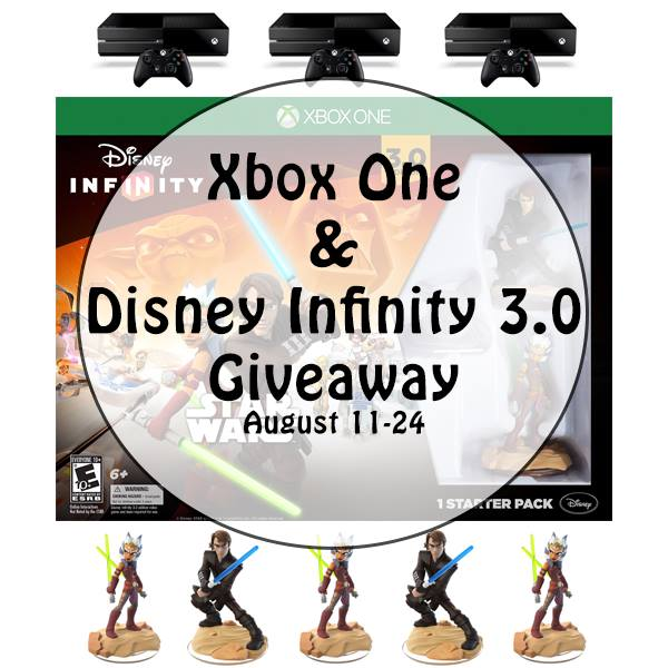 XBox One + Disney Infinity 3.0 Giveaway