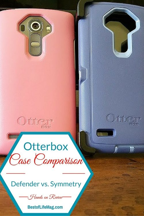 How do the Otterbox Defender and Symmetry Cases Compare?