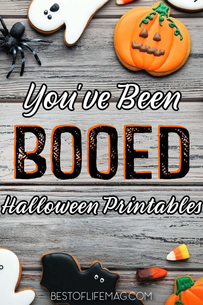 Play along with the You've Been Booed fun at Halloween with these You've Been Booed printables and activities that are perfect for any age! Halloween Printables For Kids | Free Halloween Printables | Fun Fall Printables | Halloween Ideas for Kids | Family-Friendly Halloween Games | Halloween Games for Kids | Booed Printables #halloween #boo via @amybarseghian