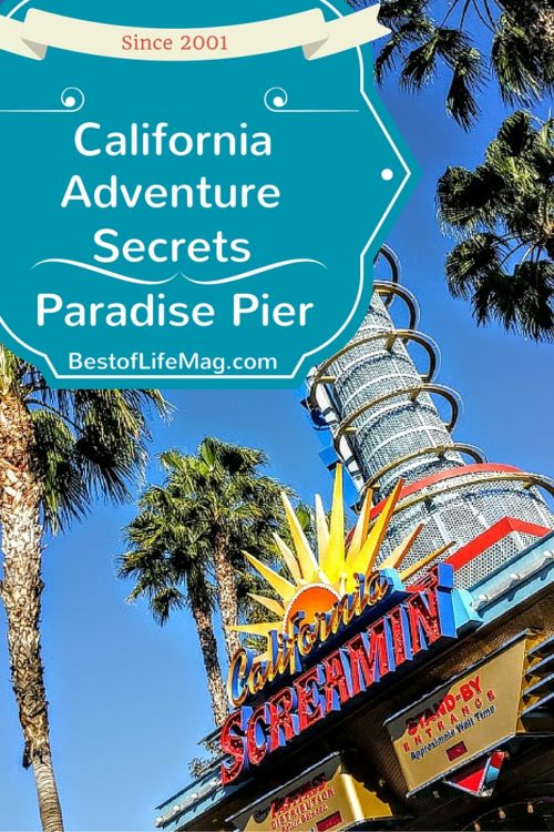 5 California Adventure Secrets Hidden in Paradise Pier