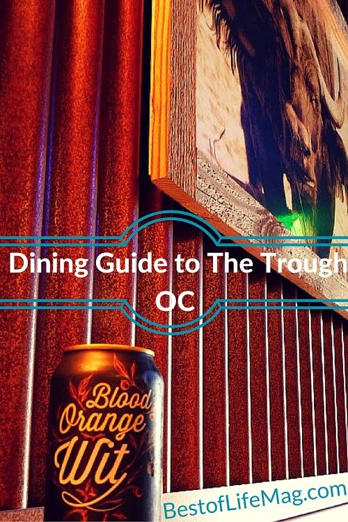 Dining Guide to The Trough OC