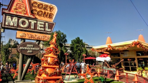 Disney California Adventure Secrets Cars Land and Bugs Land Cozy Cone