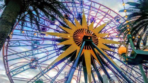 Disney California Adventure Secrets in Paradise Pier Ferris Wheel Close Up