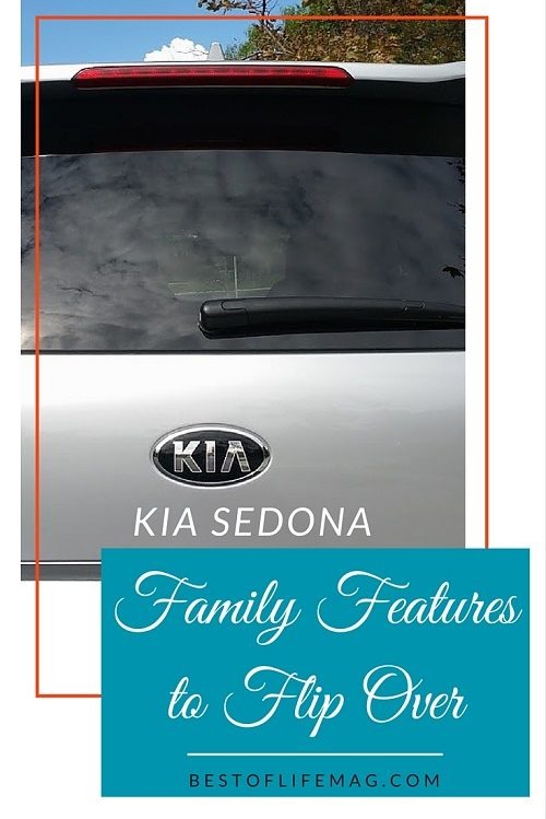 Kia Sedona - 5 Family Features to Flip Over