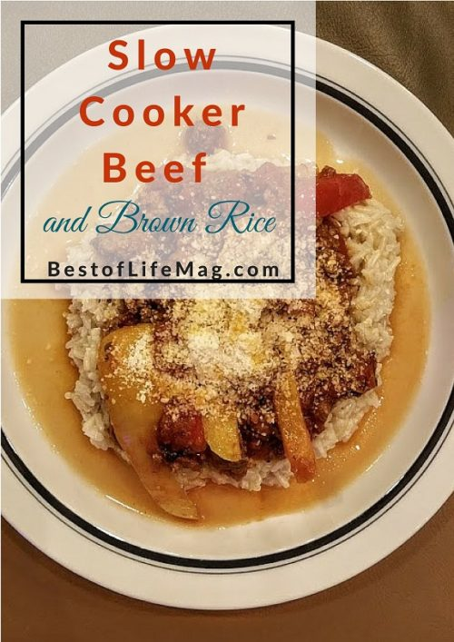 Slow Cooker Beef and Brown Rice Recipe
