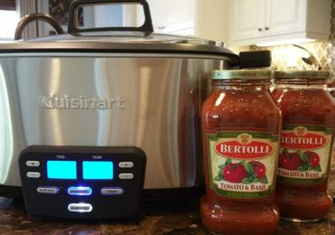 Slow Cooker Beef with Bertolli Pasta Sauce