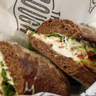 The Trough OC Caprese Sandwich