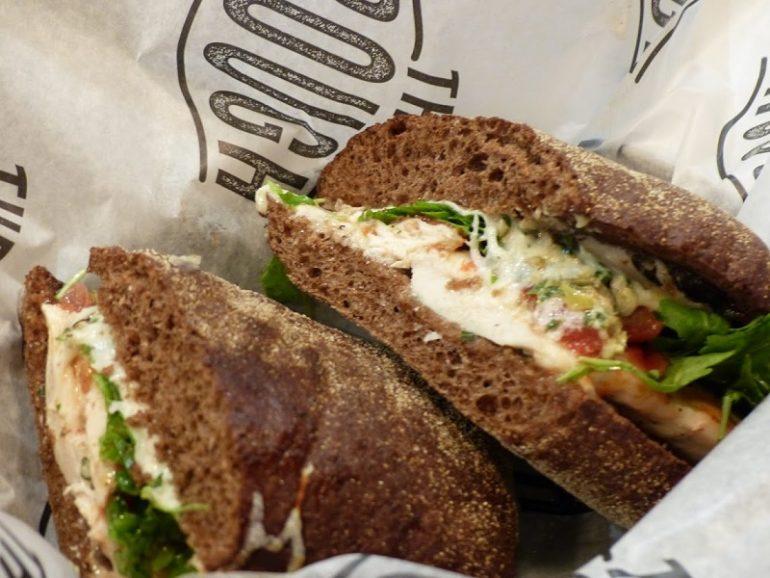 The Trough OC Caprese Sandwich
