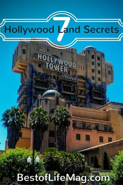 7 Disney California Adventure Secrets in Hollywood Land