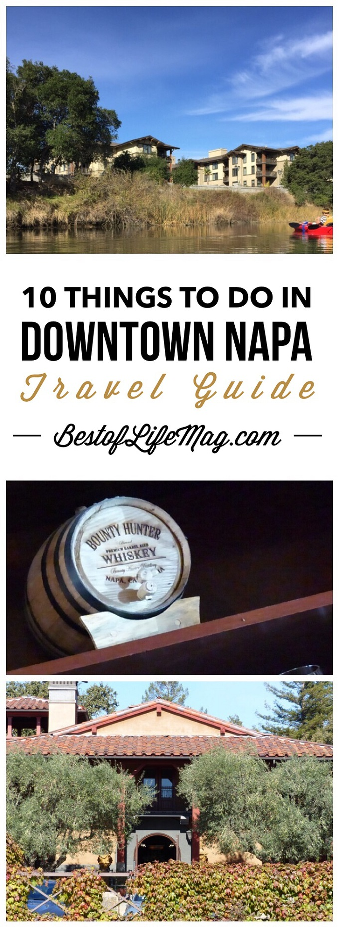 Make the Most of your Trip to Downtown Napa with this list of things to do in the area.
