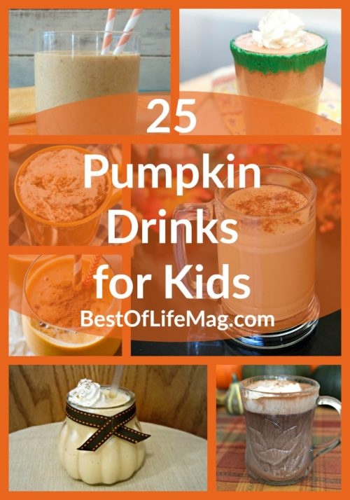 25 Pumpkin Drinks for Kids to Please
